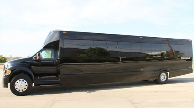 40 passenger party bus exterior