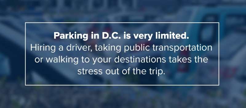 parking in Washington DC