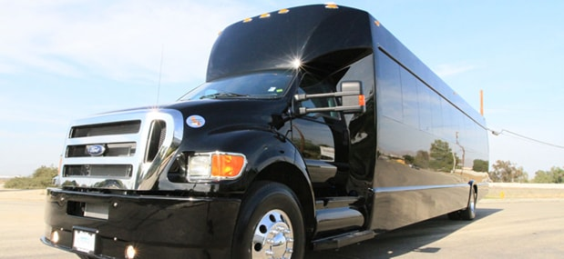 wedding charter bus rental